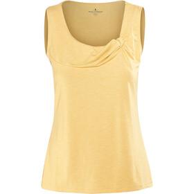 Royal Robbins Essential Tencel Mouwloos Shirt Dames geel